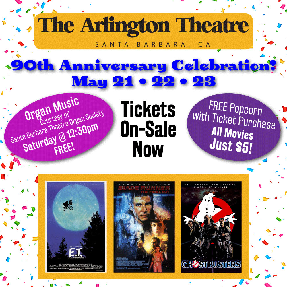 The Arlington Theatre officially reopens on May 21