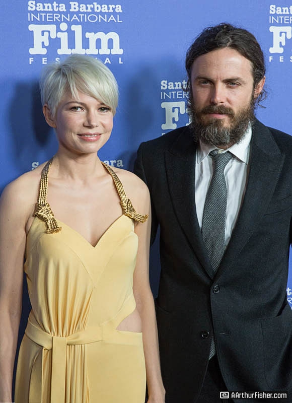 Grounded Talent: Michelle Williams and Casey Affleck at The Cinema Vanguard Award