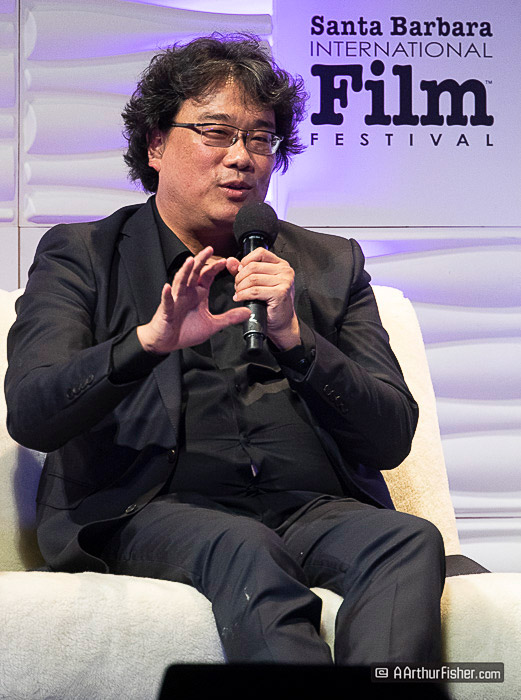 Bong Joon Ho at SBIFF