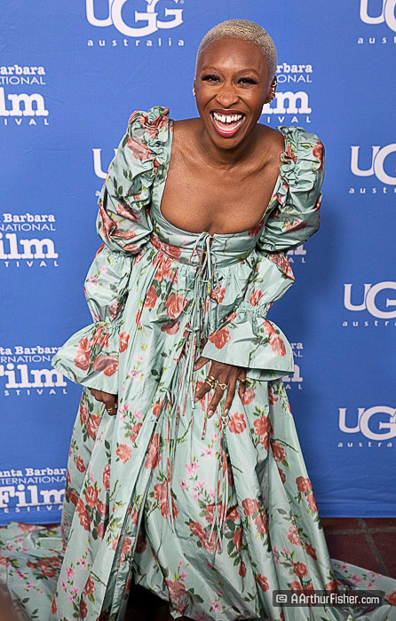 Cynthia Erivo at SBIFF