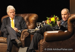 President Clinton and Paul Orfalea